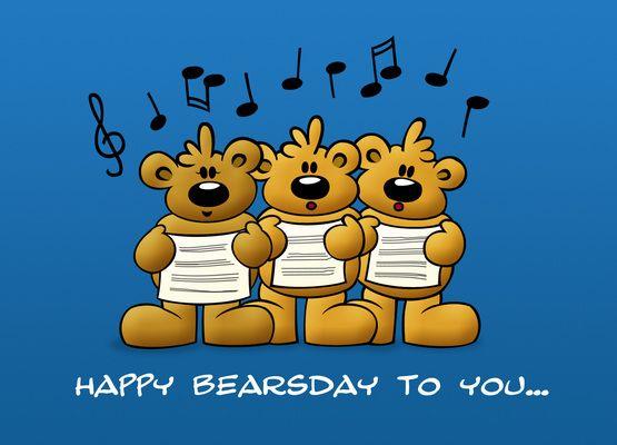 Happy Bearsday To You Schnuffelbaeren Geburtstag Lustig