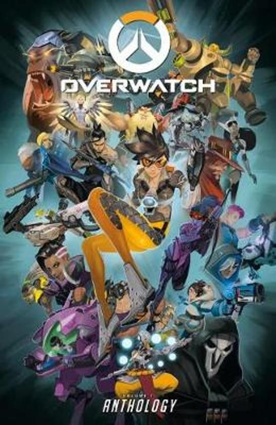 overwatch anthology volume 1 door blizzard b your