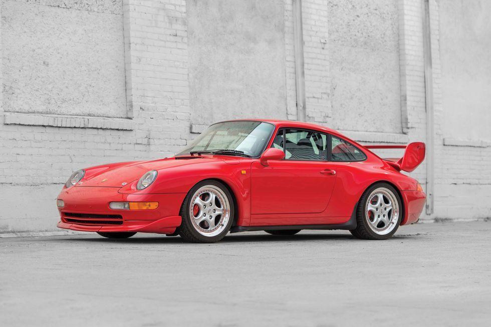 This Ultra Rare 1996 Porsche 911 3 8 Rs Could Be Worth 450k Porsche 911 Carrera Porsche 911 Porsche