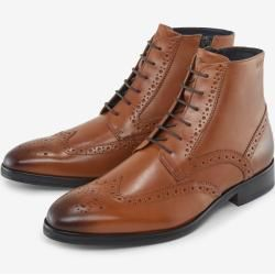 Photo of Brogue-Boots Kleitos in Cognac JoopJoop!