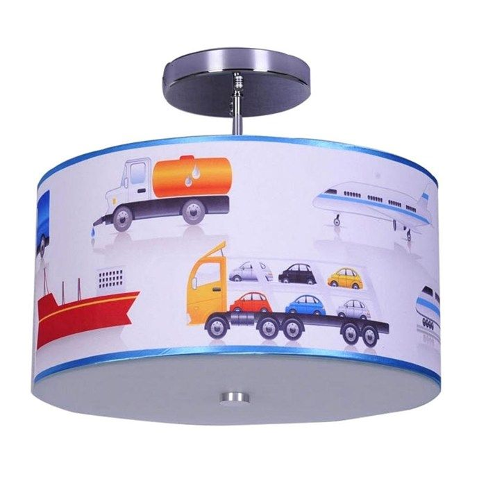 Trains Planes and Trucks Ceiling Fixture  99 95   The Baby     Trains Planes and Trucks Ceiling Fixture  99 95