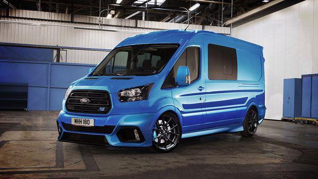 Galerie Osobaky Z Cesty Dodavky Jako Ostre Sportaky Ford Transit Vans Ford Van