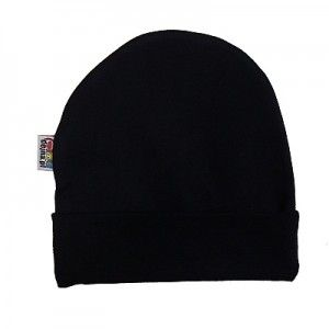 Bonnet bébé noir uni pour fille et garçon   Vêtements noirs pour ... b5aefef2b4d