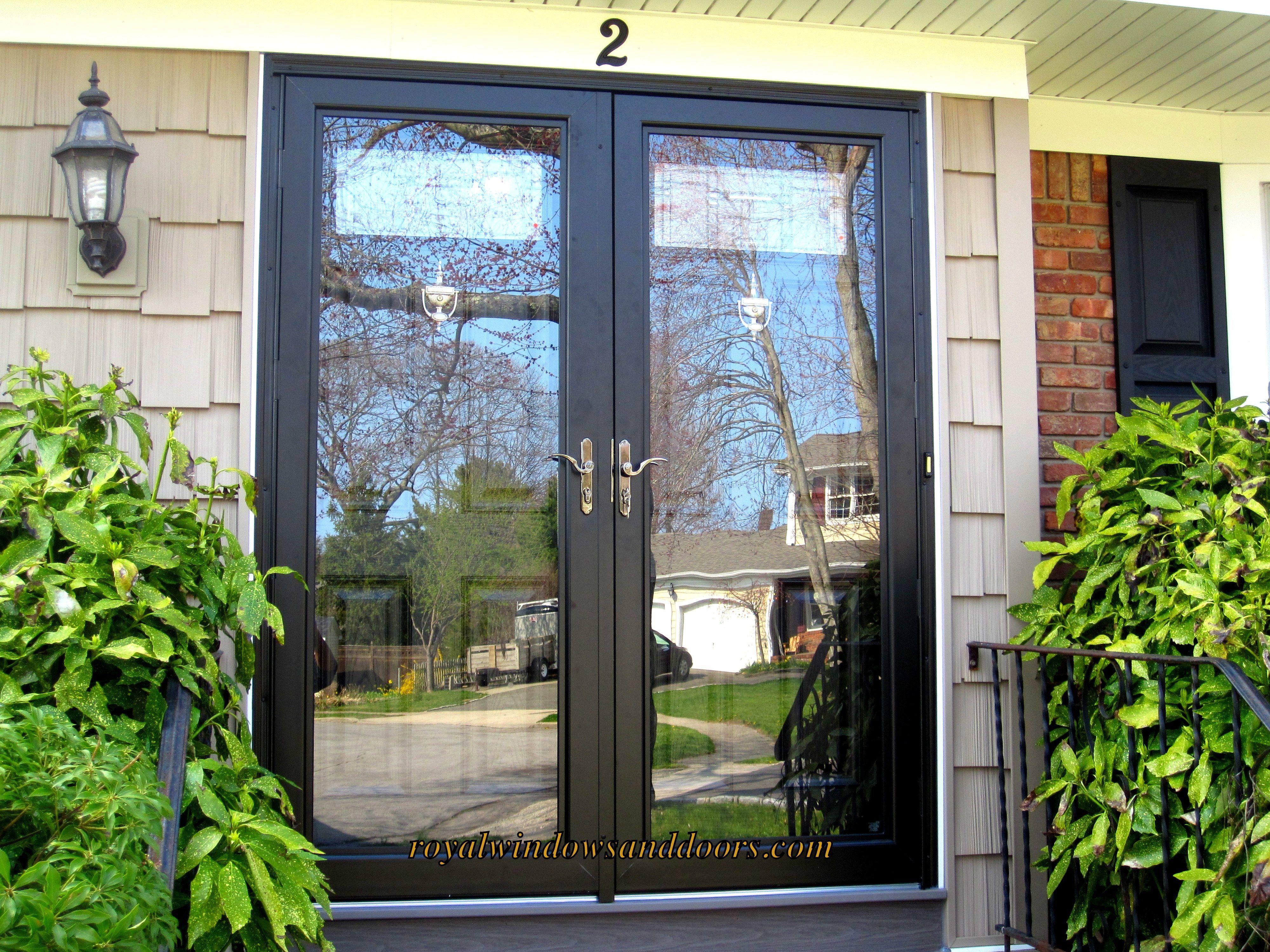 This Is The Ultimate Storm Door Created To Satisfy The Most Discriminating And Decisive Homeowner Using He Double Storm Doors Exterior House Doors Storm Door