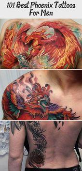Photo of 101 besten Phoenix Tattoos für Männer – Design Small Phoenix Tattoo – Beste Phoenix T …