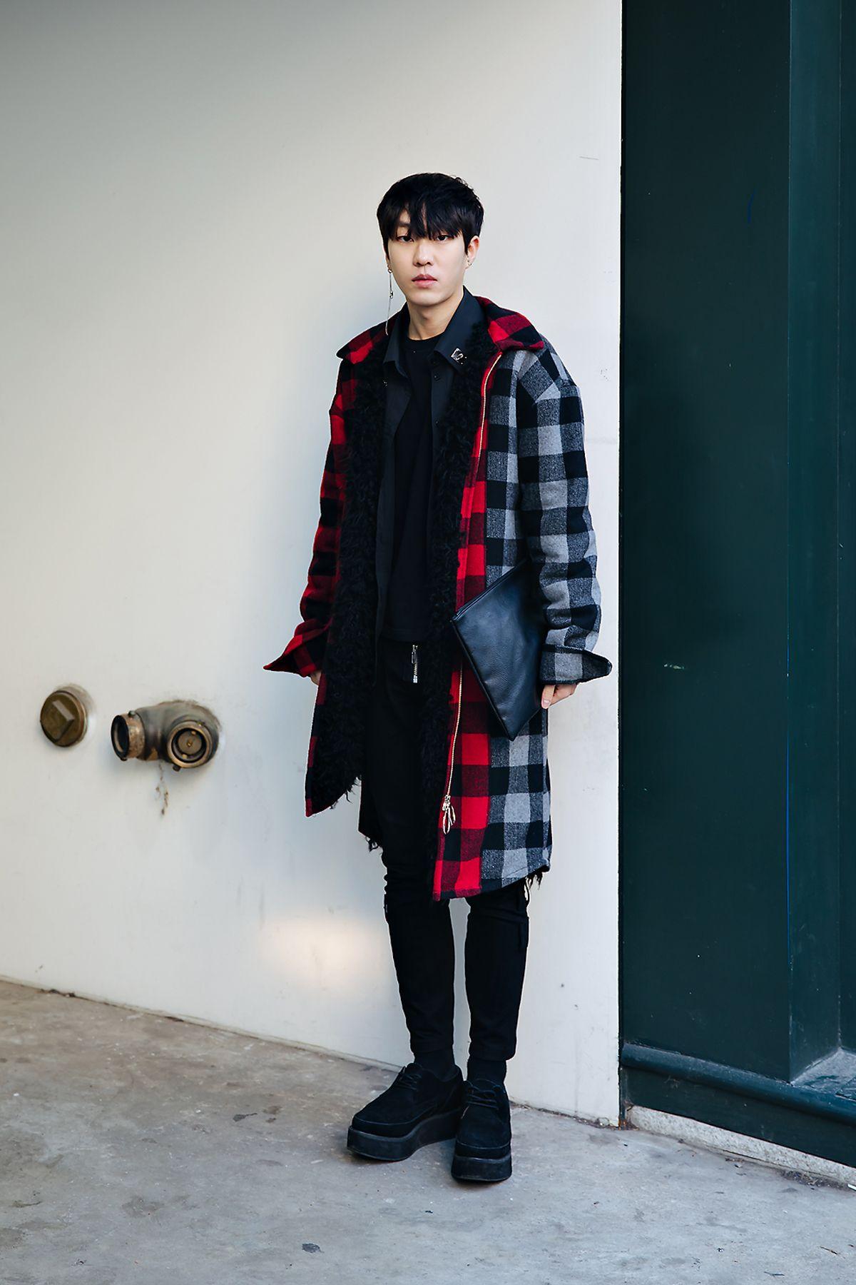 Street style men winter 8-8 in seoul -8  Ropa, Ropa de moda