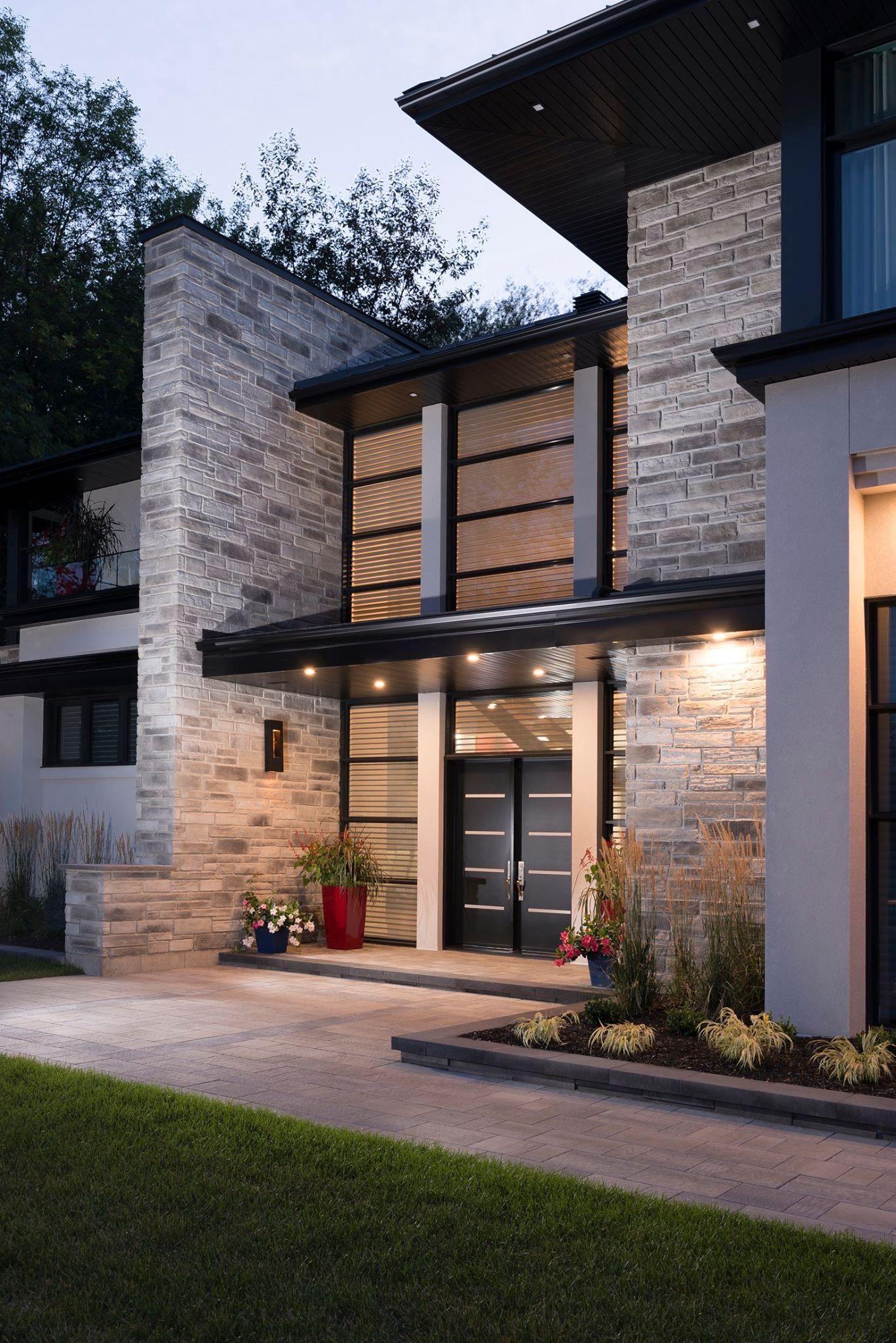 Ingresso Casa Esterno In Pietra pin di mara ducoli su progetto casa | case da sogno