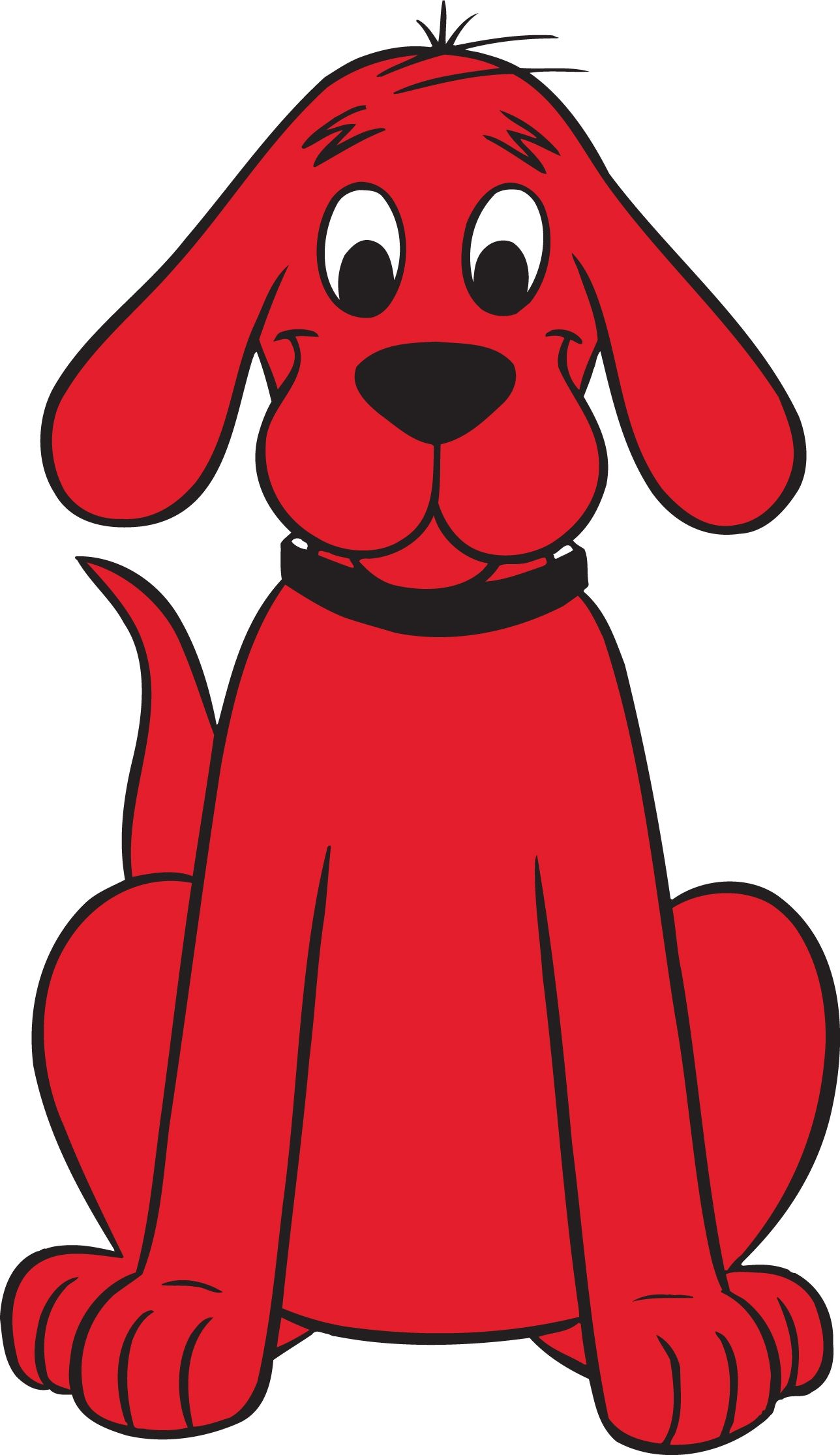 Things That Are Red | CLIFFORD THE BIG RED DOG (Dan Hansen 2012 ...