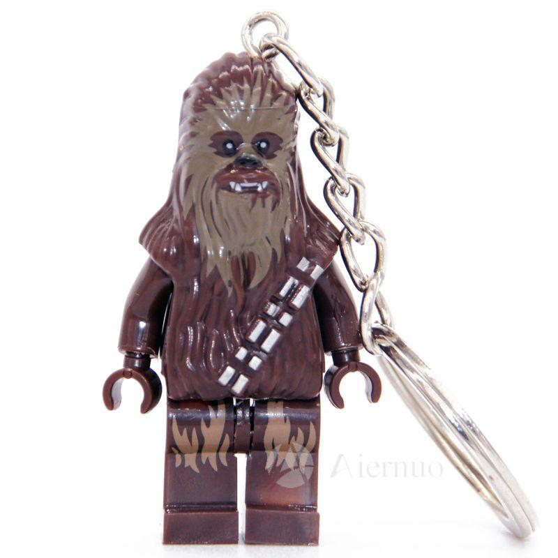 $1.89 (Buy here: http://appdeal.ru/7tqn ) No.199 Chewbacca star wars TFA The Force Awakens Keyring Minifigure Keychain Custom Ring  Handmade Key Chain Building Blocks Toy for just $1.89