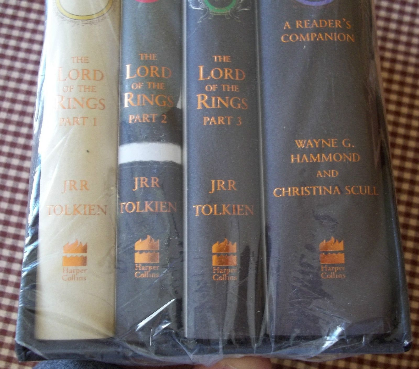 very scarce lord of the rings boxed set th ann j r r tolkien lord of the rings boxed set 50th ann j r r tolkien plus readers companion