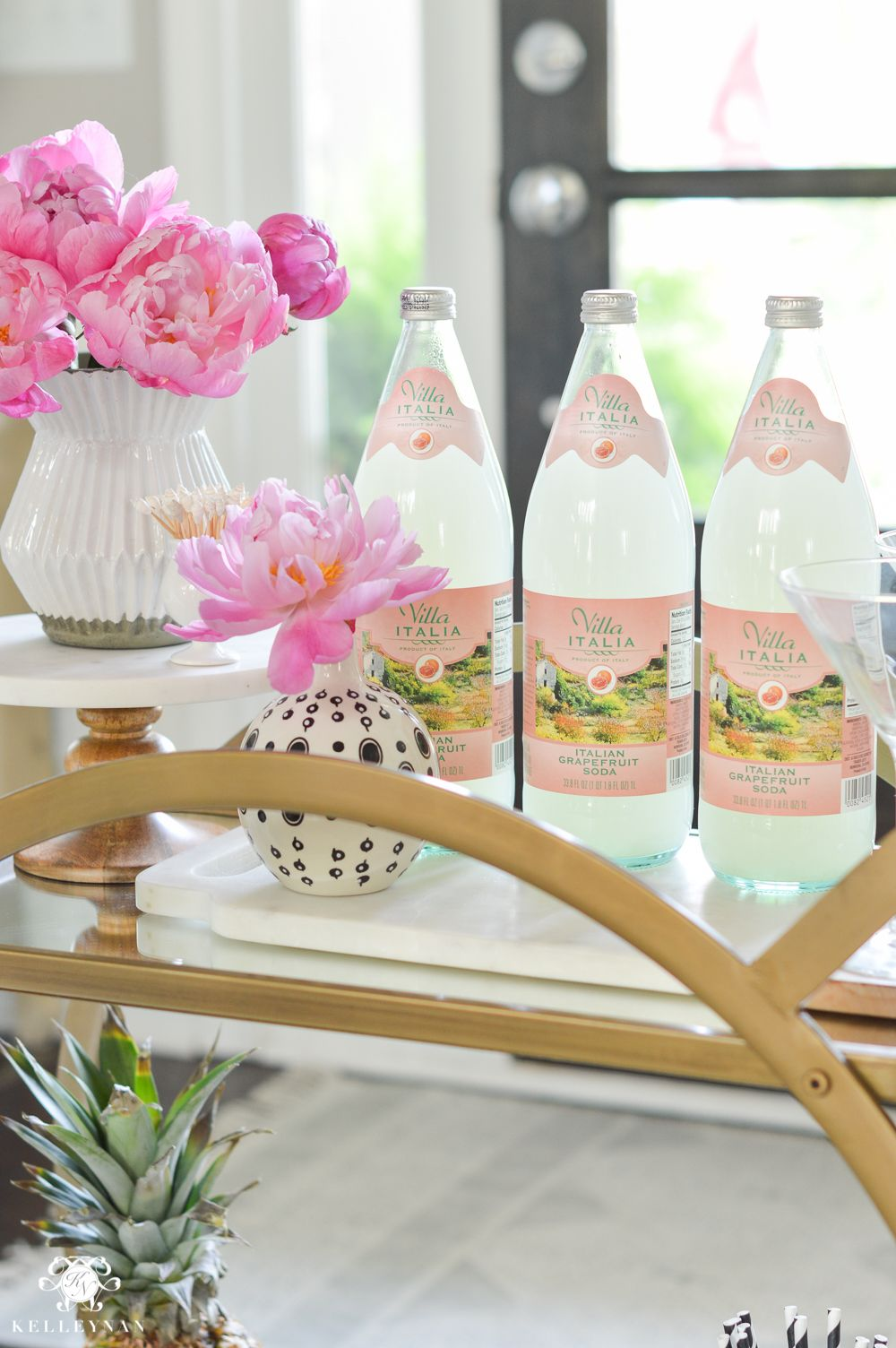 Shop Around the House: How to Style a Bar Cart in 10 Minutes or Less ...
