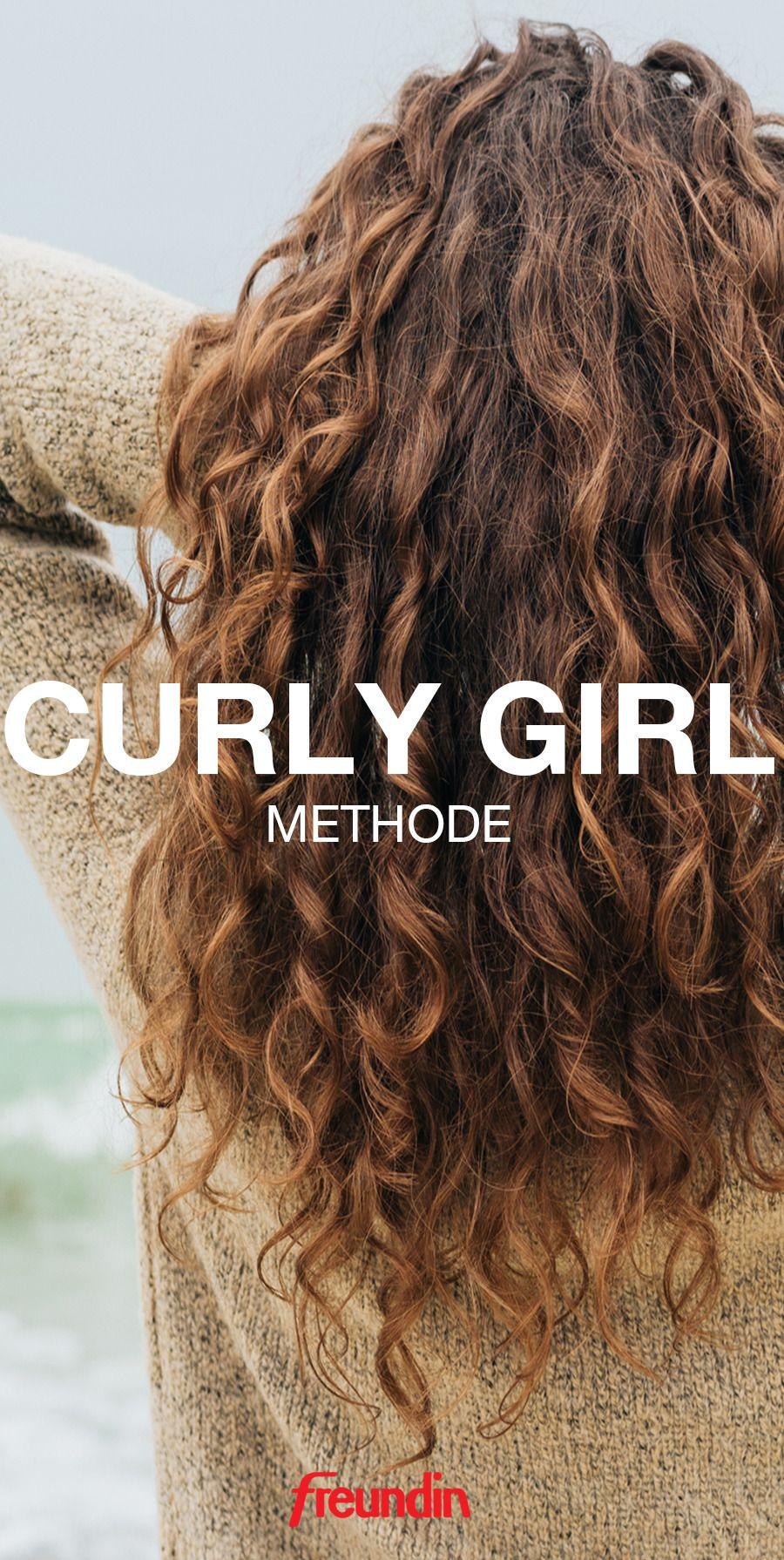 Locken Zahmen Mit Der Curly Girl Methode Lockige Haare Stylen Lockige Haare Und Lockenpflege