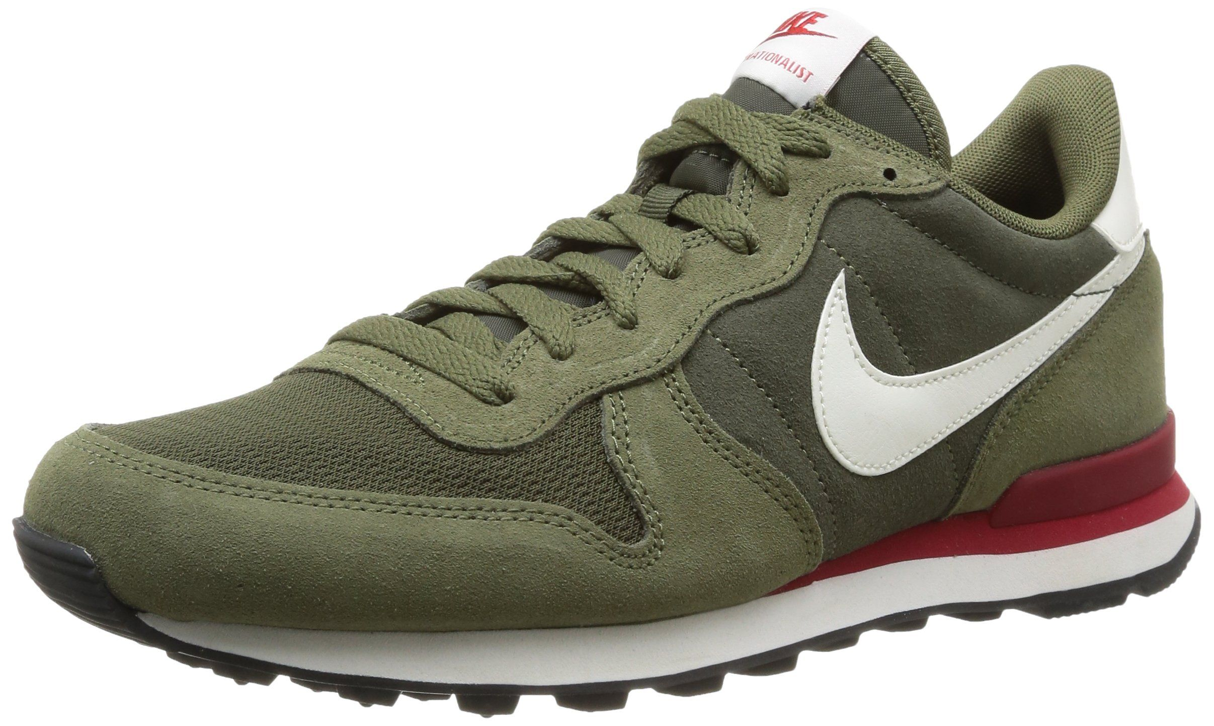 official photos feb36 41c54 ... discount code for nike internationalist leather cargo khaki sail medium  olive 79485 4a321 ...