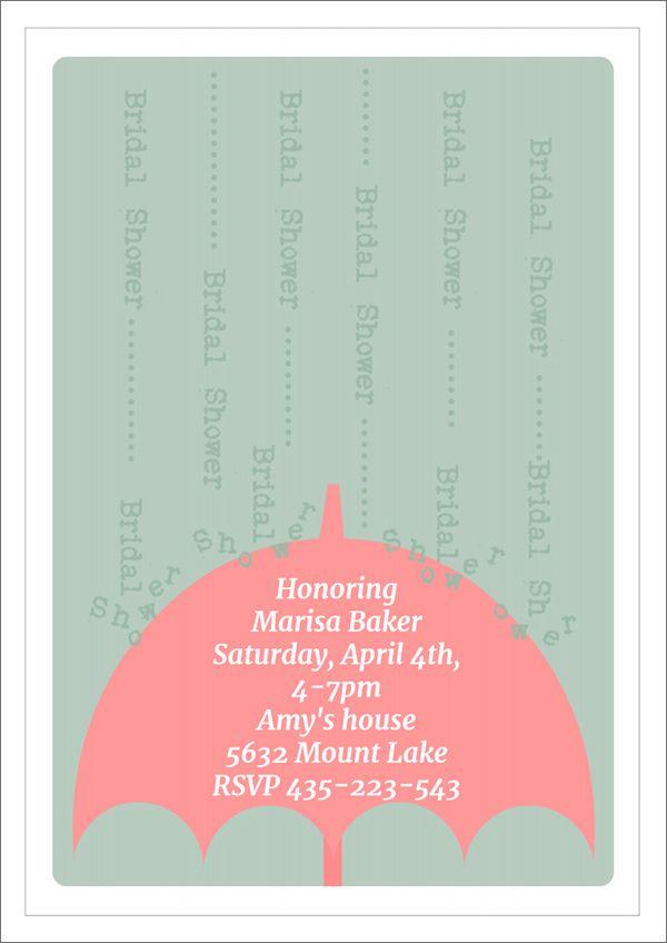 22 Free Bridal Shower Printable Invitations visit www