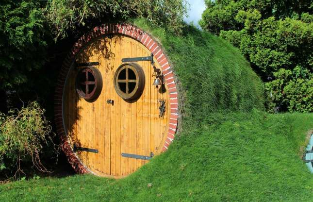 Pin By Erin On Home In 2020 Hobbit House Hobbit House For Sale Crazy Houses