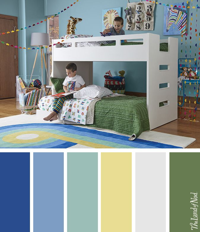 A Ton Of Rooms With Colorful Toys: Searching For Boys Bedroom Ideas? The Land Of Nod Has Tons