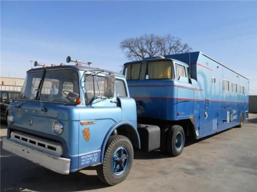 time warp: 1970 camelot cruiser rv ford c 900 - gas monkey garage