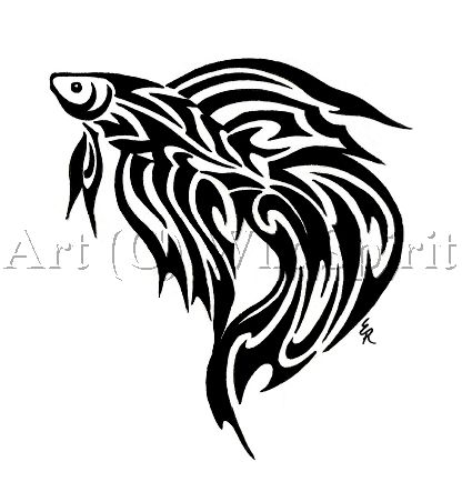 Trend Tribal Fish Tattoos Designs - Koi Fish Tattoos -  Love this one