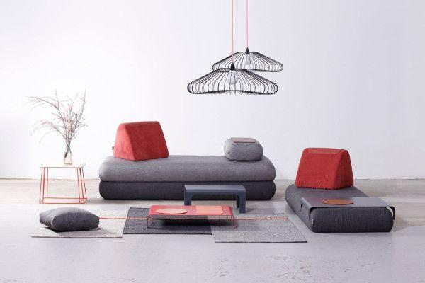 A Multifunctional Sofa for Urban Nomads | Muebles multifuncionales