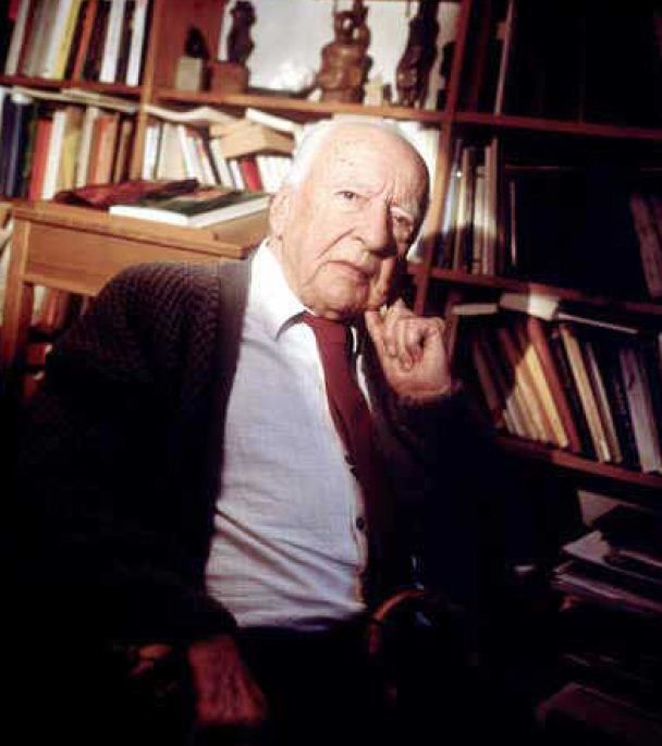 "Hans-Georg Gadamer (1900 - 2002) Influential post-war German philosopher, famous for his book ""Truth and Method"" which developed the concept of philosophical hermeneutics"