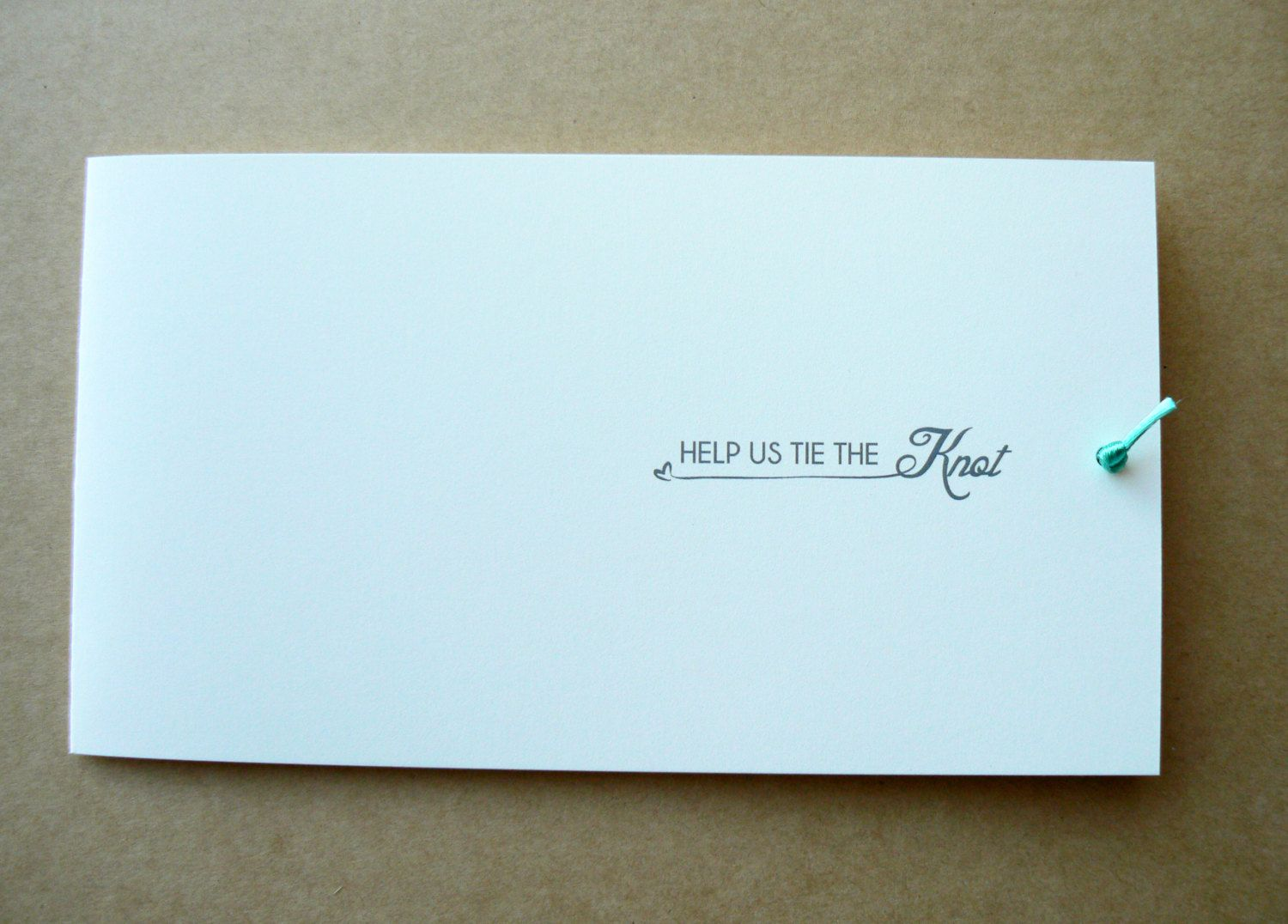 The front help us tie the knot literally wedding invitation the front help us tie the knot literally wedding invitation digital design 5000 stopboris Image collections