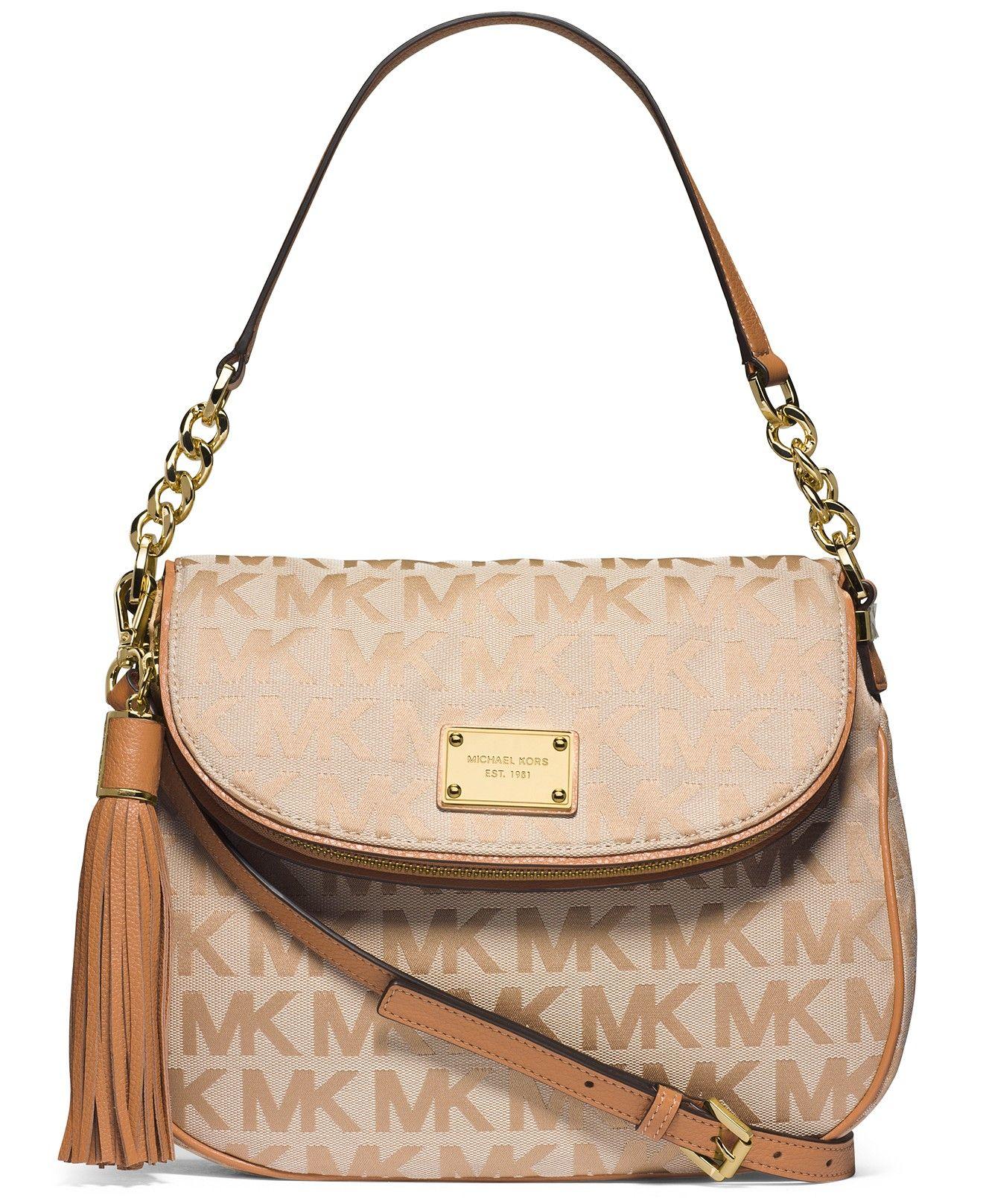 Michael Kors Jet Set Item Medium Tassel Convertible Shoulder Clearance Handbags Accessories Macy S