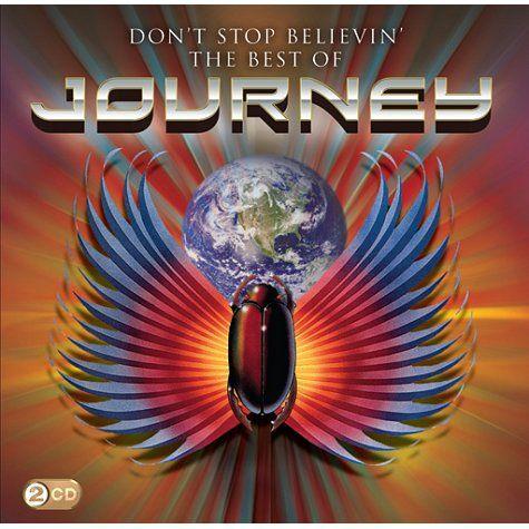 Journey Escape Don/'t Stop Believing Rock Music Adult T Shirt
