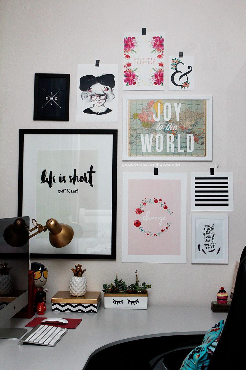 A Parede Mais Bonitona Office Wall Decoroffice