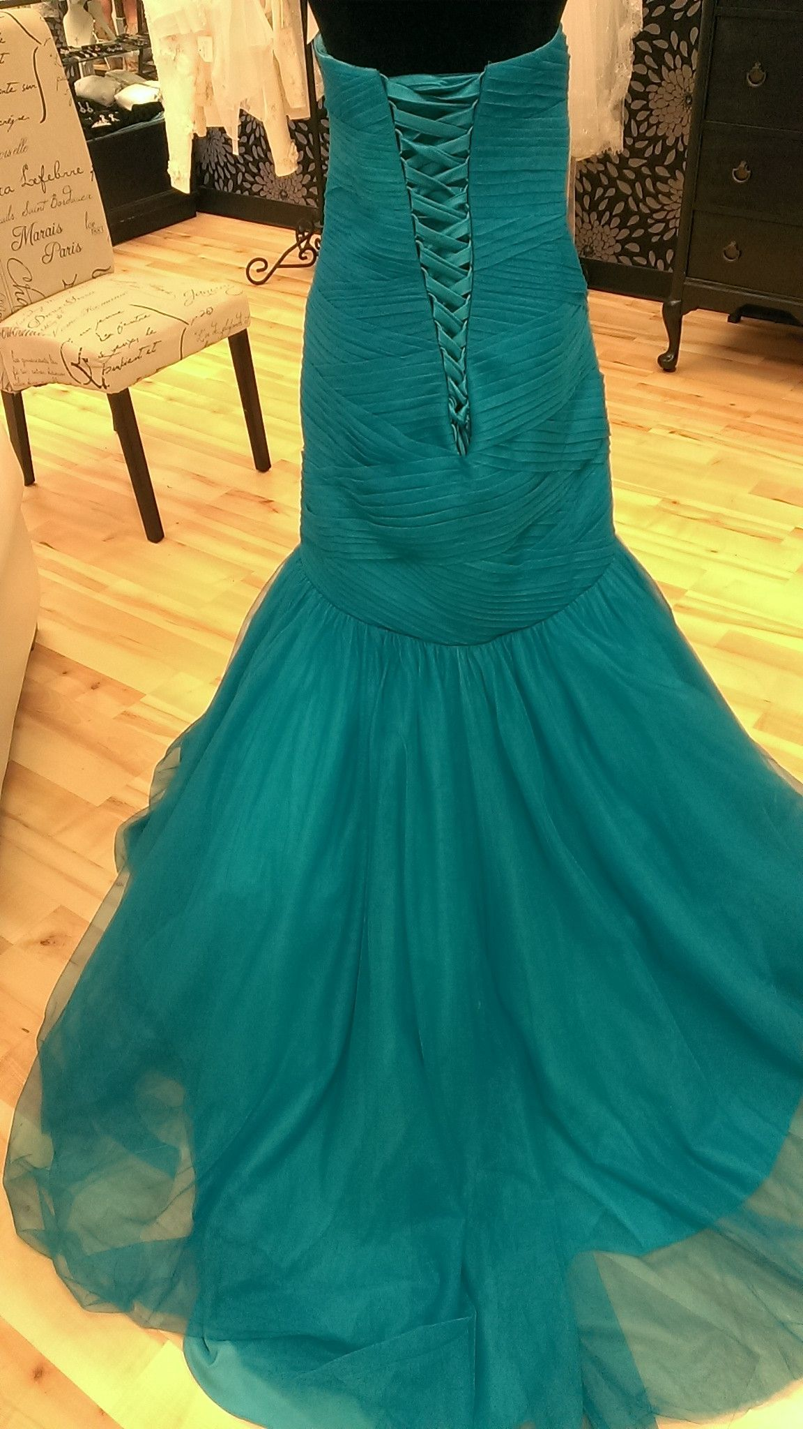 Electric Teal Prom Dress | prom | Pinterest | Prom, Teal and Dream ...