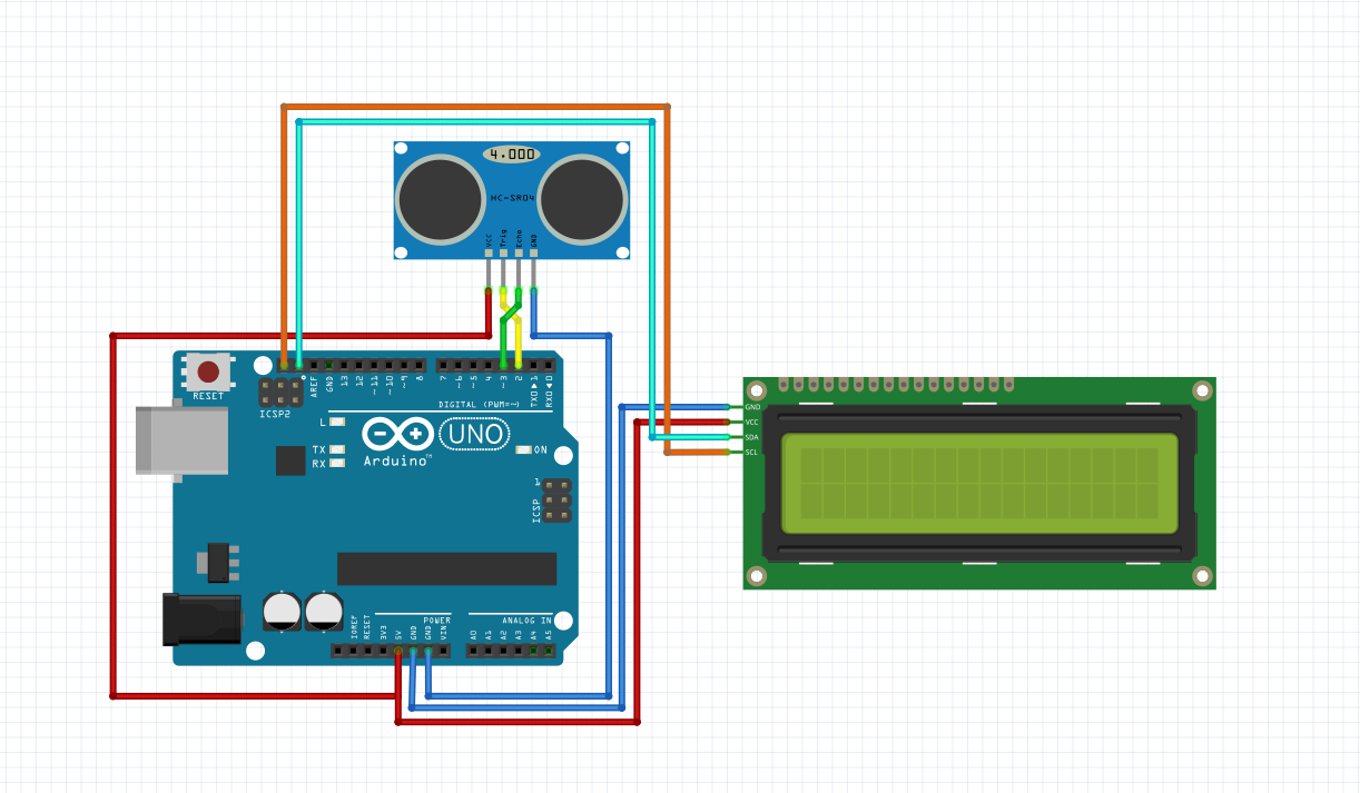 In One Of Our Previous Arduino Project We Used The Sensor Hc Sr04 To Allow A Robot To See Obstacle Arduino Projects Arduino Electronics Projects For Beginners
