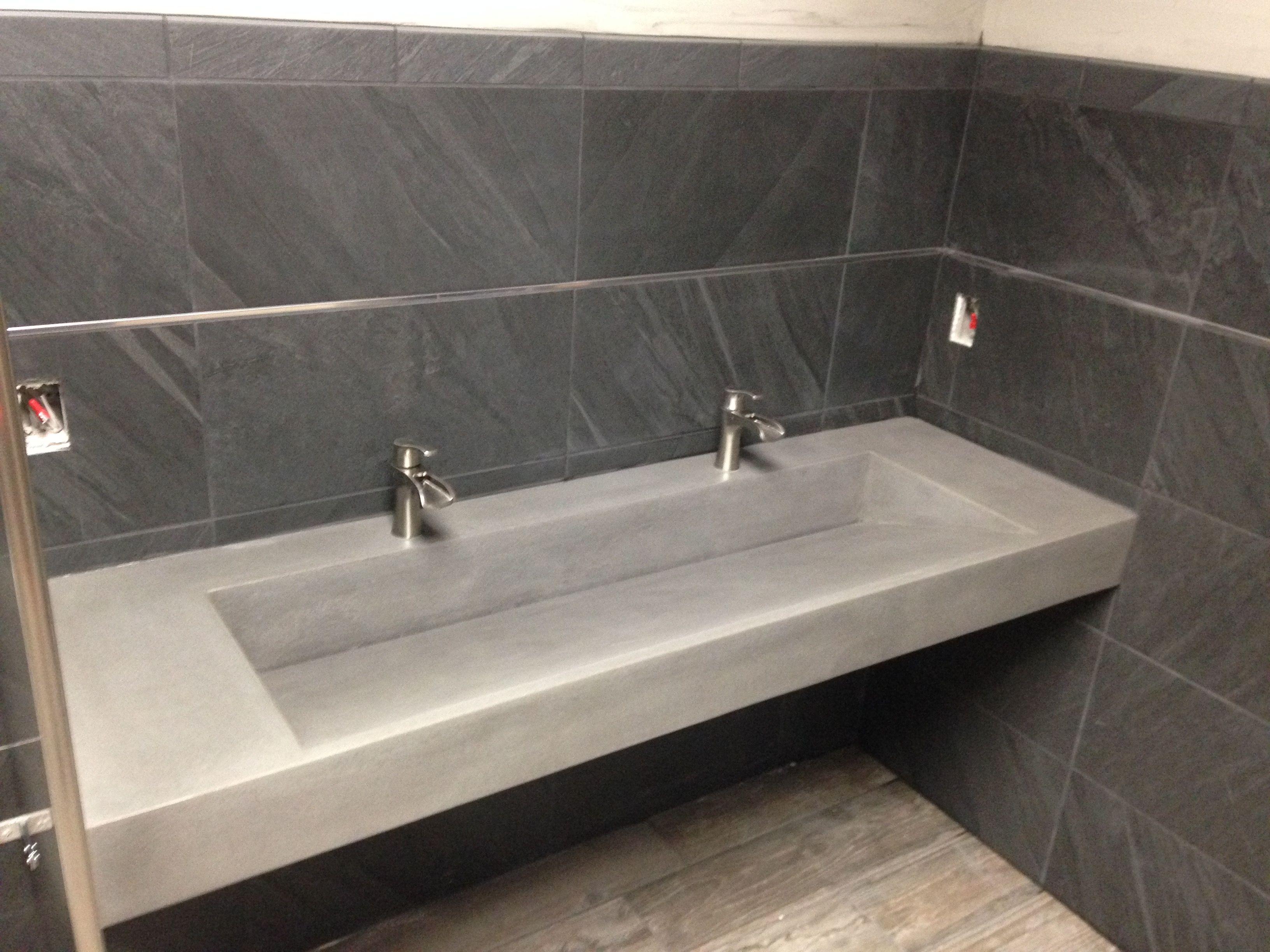 Concrete Fire Pits Minneapolis MN Concrete Bathroom Concrete And - Ada compliant floor tiles