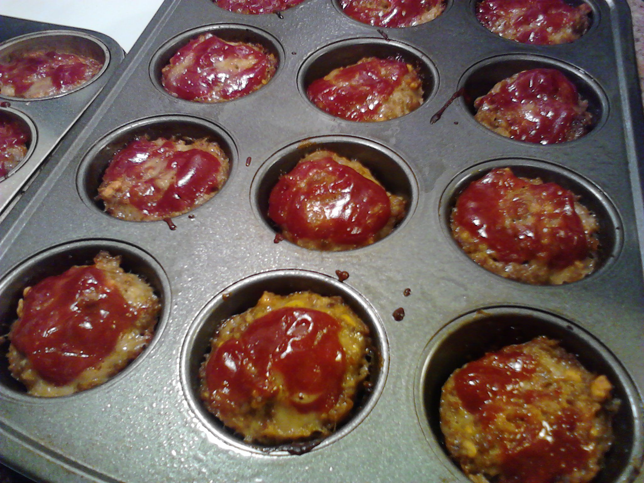 Mini Meatloaf Burgers Make Your Favorite Meatloaf Recipe Put Them Into A Muffin Pan To Bake Then Use Mi Mini Meatloaf Recipes Small Meatloaf Recipe Recipes