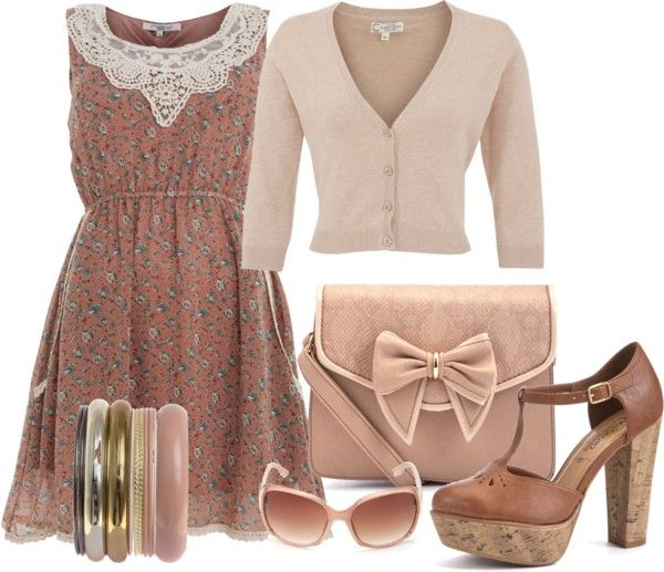 """""""Dressed up cardigan"""" by shistyle ❤ liked on Polyvore"""