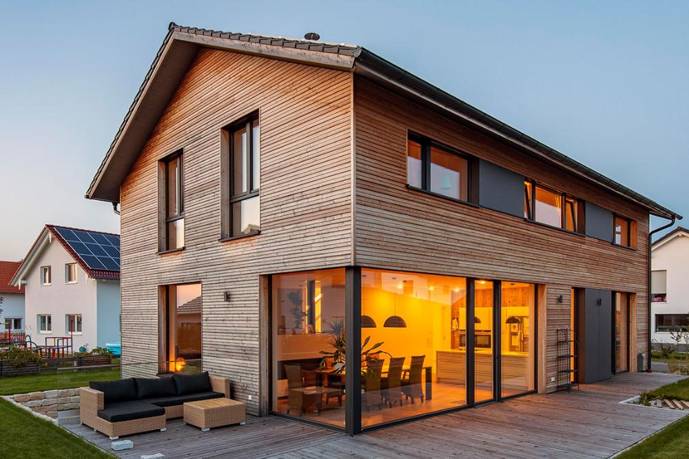 Holzhaus in Oberpframmern