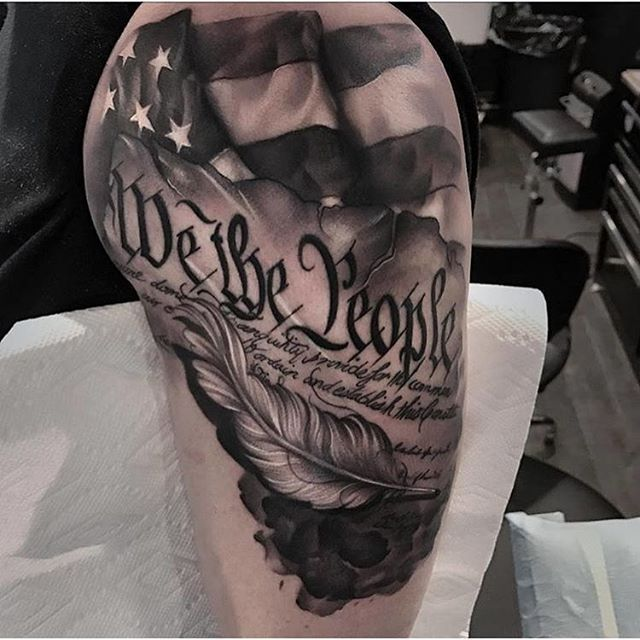 Instagram Photo By Patriotink Tattoos Tattoos Patriotic