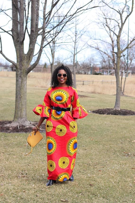 African Clothing for Women African Print Dress African Dresses | Etsy #africanprintdresses