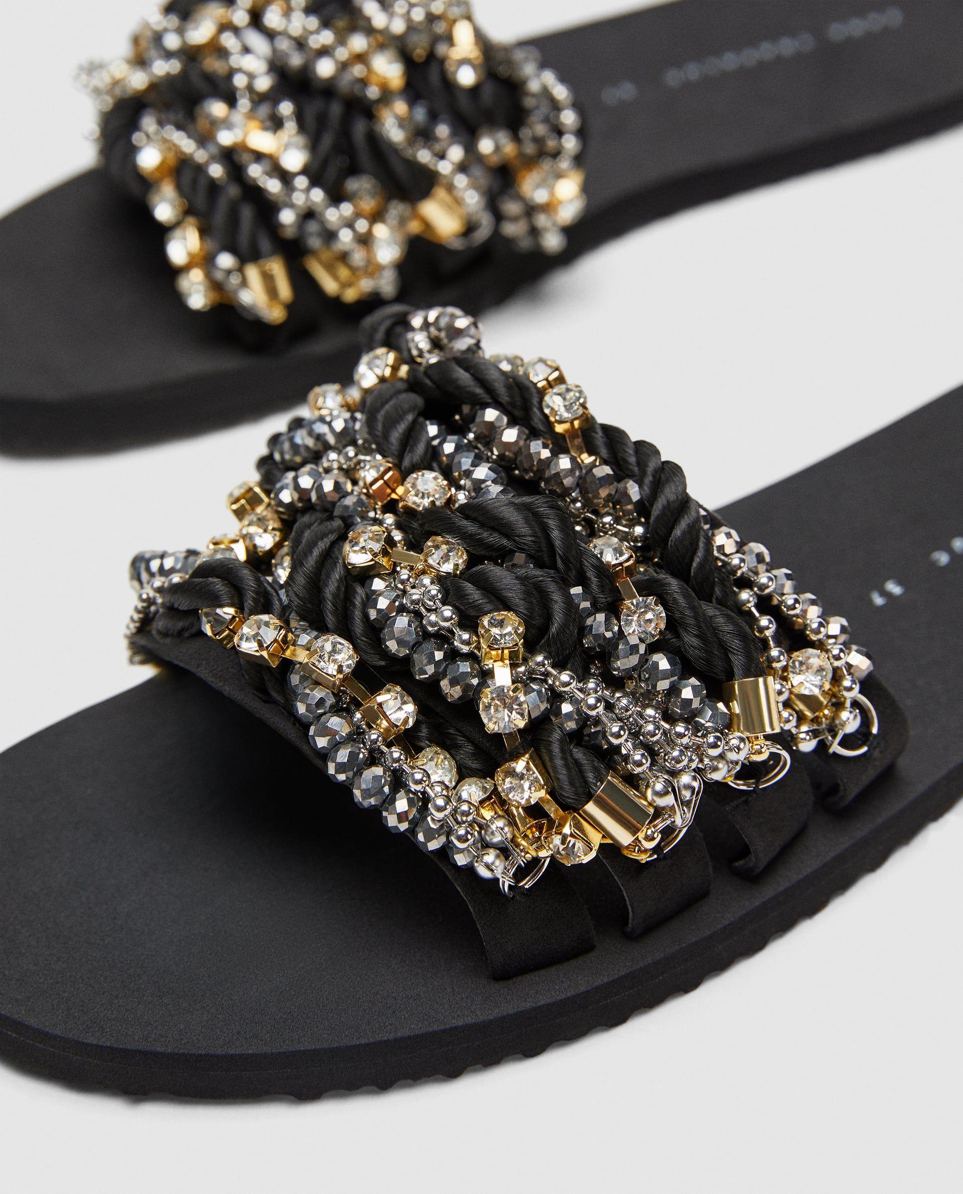 Tasli Terlik Terlik Sandalet Ayakkabilar