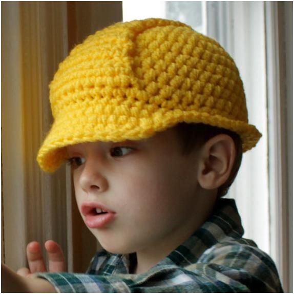 Bob the Builder...too many cute kid hats out there! | Crochet ...