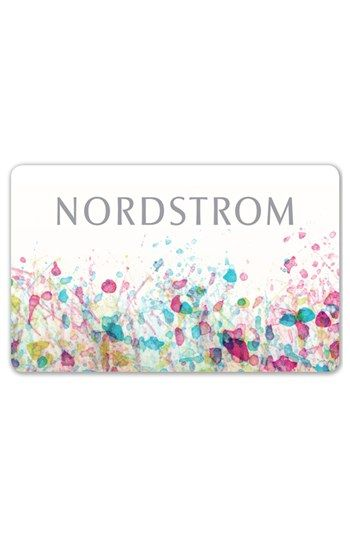 You really can't go wrong with a Nordstrom Confetti Gift Card ...