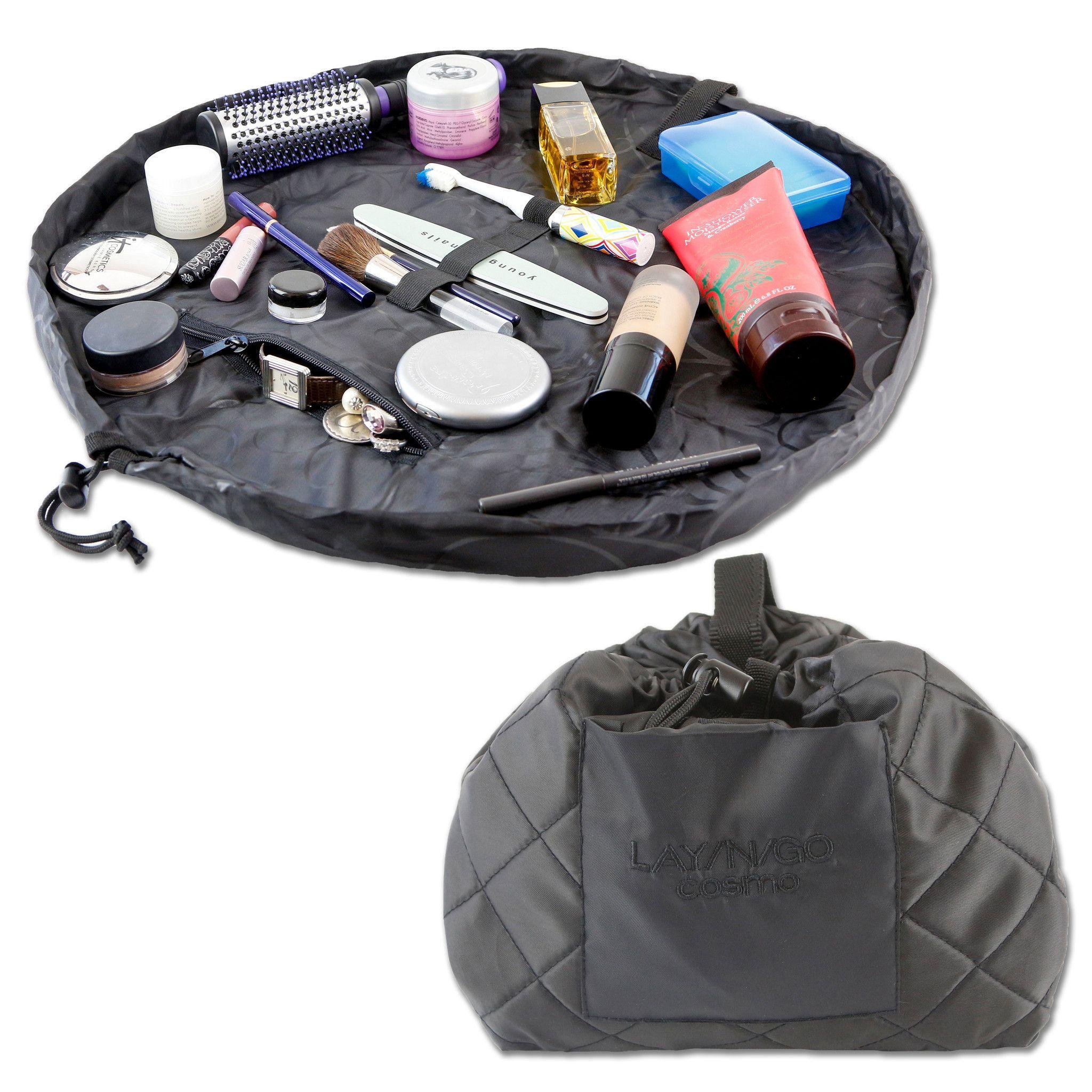 "LaynGo COSMO Deluxe (22"") Black Cosmetic bag, Bags"