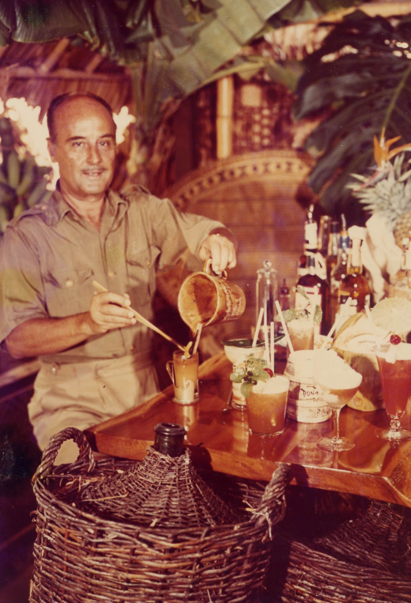 The one and only, Donn the Beachcomber. #tiki legend ...