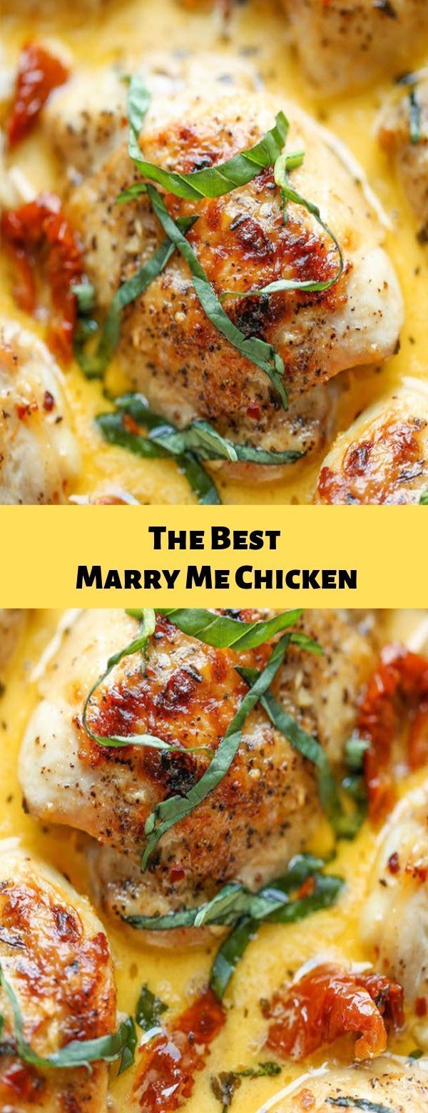 Die besten Marry Me Chicken #chicken #dinner - My Recipes21 #marrymechicken