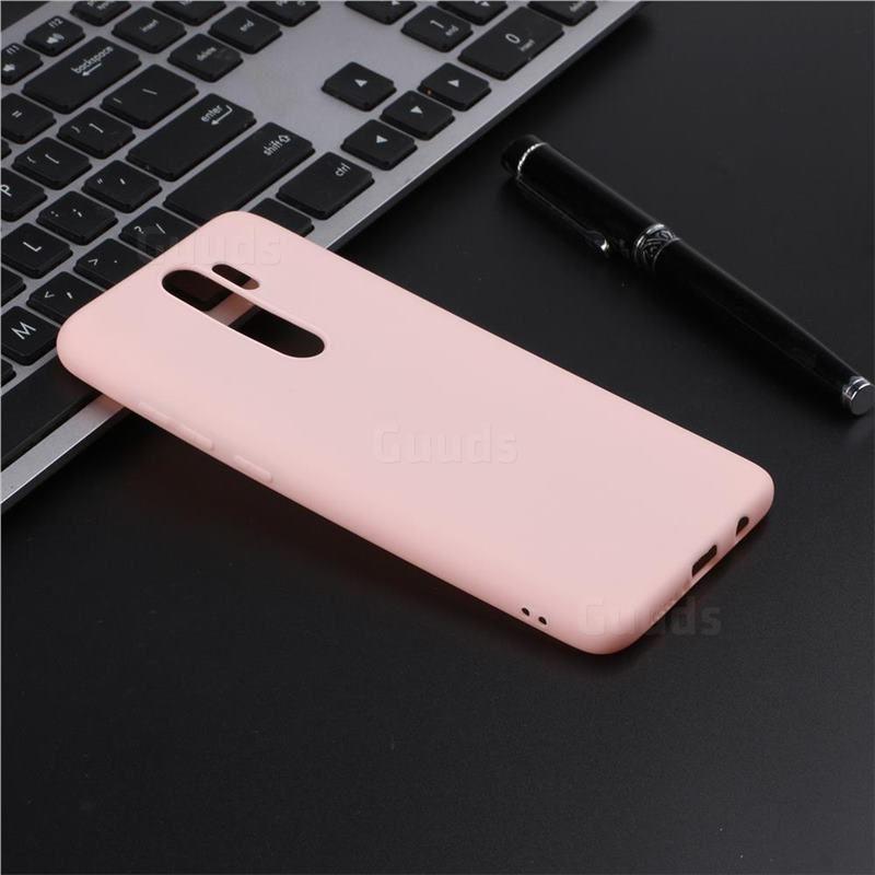 Candy Soft Tpu Back Cover For Mi Xiaomi Redmi Note 8 Pro Pink Xiaomi Redmi Note 8 Pro Cases Guuds Xiaomi Pink Cover