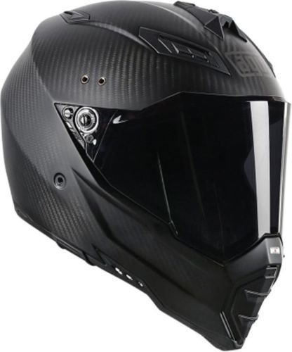 Cool Full Face Motorcycle Helmets >> Agv Ax 8 Evolution Carbon Fiber Dual Sport Naked Full Face