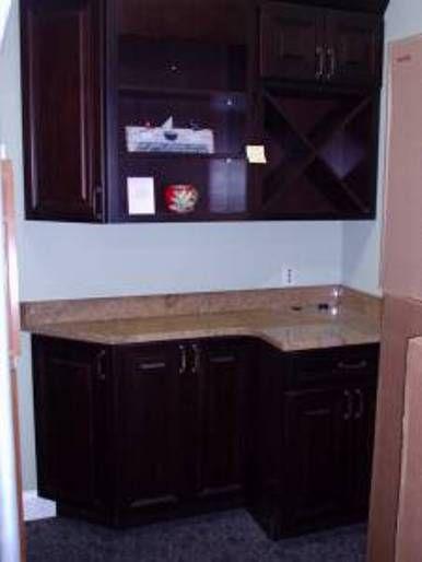 Kitchen Appliances Dark Brown Color Design Of Overstock Kitchen - Kitchen cabinets overstock