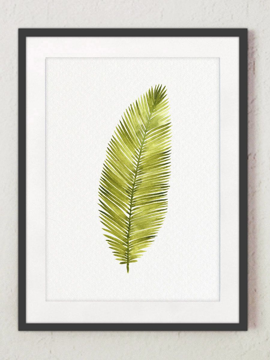 Old Fashioned Tropical Leaf Wall Decor Inspiration - The Wall Art ...