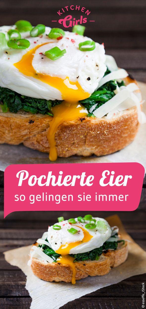 Rezept & Anleitung: Pochierte Eier - so gelingen sie immer