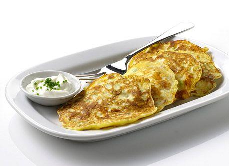 Simply Potatoes: Irish Potato Pancakes Recipe