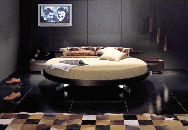 17 Contemporary Round Bed Frame Designs Bed Design Modern Round