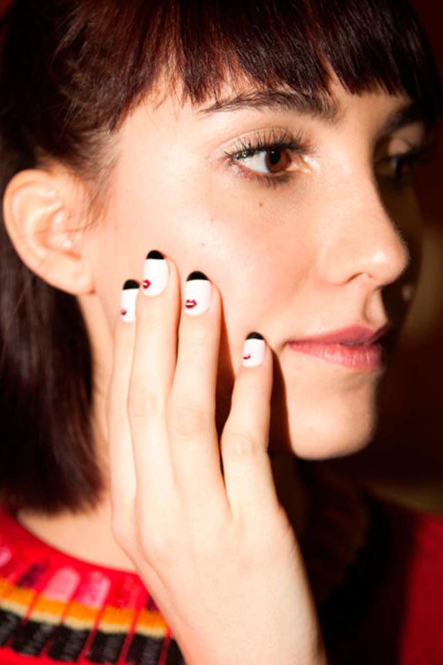MANICURAS DE MODA OTOÑO INVIERNO 2016-17 - Rachel Antonoff nails ...